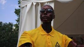 Ρομπότ Humanoid 4K απόθεμα βίντεο