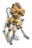 Ρομπότ Steampunk Στοκ Εικόνες