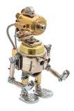Ρομπότ Steampunk Στοκ Εικόνα