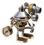 Ρομπότ Steampunk Στοκ Φωτογραφία
