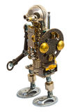 Ρομπότ Steampunk Στοκ εικόνες με δικαίωμα ελεύθερης χρήσης