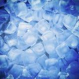 δροσερός φρέσκος πάγος κύβων Στοκ εικόνα με δικαίωμα ελεύθερης χρήσης