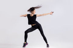 δροσερό χορεύοντας κορί& Στοκ εικόνα με δικαίωμα ελεύθερης χρήσης
