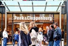$ροστόκ, Γερμανία - 22 Αυγούστου 2016: Κρυφοκοιτάξτε Cloppenburg Στοκ Εικόνα