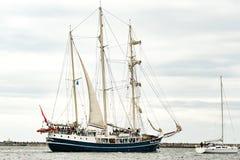 $ροστόκ, Γερμανία - τον Αύγουστο του 2016: Πλέοντας σκάφος Pedro Doncker στη θάλασσα της Βαλτικής Στοκ εικόνες με δικαίωμα ελεύθερης χρήσης