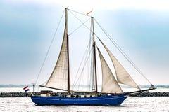 $ροστόκ, Γερμανία - τον Αύγουστο του 2016: Πλέοντας σκάφος Stortemelk στη θάλασσα της Βαλτικής Στοκ Φωτογραφίες
