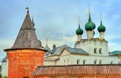 Ροστόφ Κρεμλίνο, το χρυσό δαχτυλίδι της Ρωσίας Στοκ εικόνα με δικαίωμα ελεύθερης χρήσης