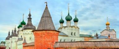 Ροστόφ Κρεμλίνο, το χρυσό δαχτυλίδι της Ρωσίας Στοκ Εικόνα