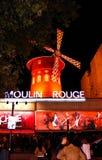Ρουζ Moulin, Παρίσι, Γαλλία Στοκ φωτογραφία με δικαίωμα ελεύθερης χρήσης