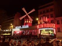 Ρουζ Moulin, Παρίσι, Γαλλία Στοκ φωτογραφίες με δικαίωμα ελεύθερης χρήσης