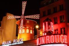 ρουζ moulin στοκ φωτογραφία με δικαίωμα ελεύθερης χρήσης
