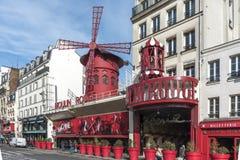 Ρουζ Moulin στοκ φωτογραφίες με δικαίωμα ελεύθερης χρήσης