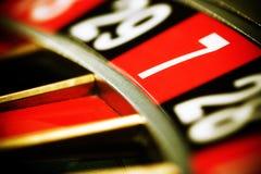 ρουλέτα χαρτοπαικτικών λεσχών Στοκ εικόνες με δικαίωμα ελεύθερης χρήσης