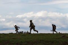 Ρουμανία-ΝΑΤΟ-στρατός-ΑΣΚΗΣΗ Στοκ Εικόνες