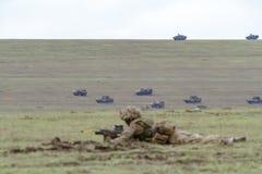 Ρουμανία-ΝΑΤΟ-στρατός-ΑΣΚΗΣΗ Στοκ Φωτογραφία