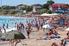 Ρουμανία 2 παραλία της Mai Ρουμανία Στοκ φωτογραφίες με δικαίωμα ελεύθερης χρήσης