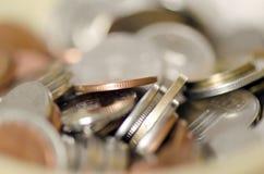 Ρουμανικά νομίσματα Στοκ φωτογραφία με δικαίωμα ελεύθερης χρήσης