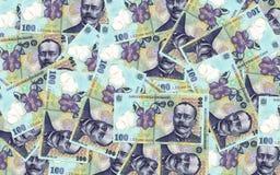 Ρουμανικά τραπεζογραμμάτια Στοκ Φωτογραφίες