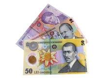 Ρουμανικά χρήματα Στοκ φωτογραφία με δικαίωμα ελεύθερης χρήσης