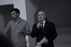Ρουμανική διοικητική Επιτροπή στο ρουμανικό πρωτάθλημα, νεώτεροι, το Μάιο του 2018 στοκ φωτογραφίες