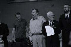 Ρουμανική διοικητική Επιτροπή στο ρουμανικό πρωτάθλημα, νεώτεροι, το Μάιο του 2018 στοκ εικόνα με δικαίωμα ελεύθερης χρήσης