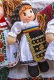 Ρουμανική κούκλα Στοκ Εικόνες