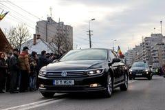 Ρουμανική στρατιωτική παρέλαση εθνικής μέρας vehicule στοκ φωτογραφίες