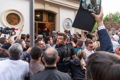 Ρουμανική ψηφοφορία Διασποράς στοκ φωτογραφίες