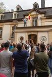 Ρουμανική ψηφοφορία Διασποράς στοκ φωτογραφίες με δικαίωμα ελεύθερης χρήσης