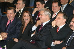 Ρουμανικοί πολιτικοί στοκ εικόνα με δικαίωμα ελεύθερης χρήσης