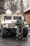 Ρουμανικός στρατιώτης ειδικών αποστολών Στοκ Εικόνες