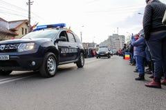 Ρουμανικός στρατός παρελάσεων εθνικής μέρας στρατιωτικός vehicule στοκ εικόνες