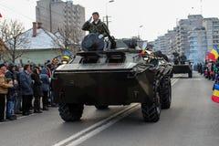 Ρουμανικός στρατός παρελάσεων εθνικής μέρας στρατιωτικός vehicule στοκ εικόνες με δικαίωμα ελεύθερης χρήσης