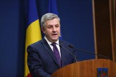Ρουμανικός υπουργός Δικαιοσύνης, φλορίνι IORDACHE στοκ φωτογραφία με δικαίωμα ελεύθερης χρήσης