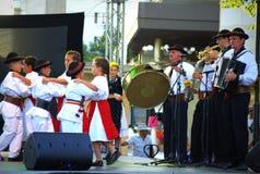 Ρουμανικός χορός παιδιών Στοκ Εικόνα