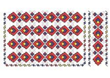 Ρουμανικό μοτίβο Στοκ Εικόνα
