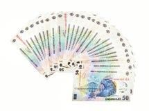 Ρουμανικό νόμισμα εγγράφου στοκ φωτογραφία