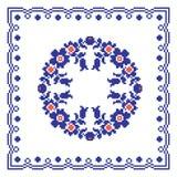 Ρουμανικό παραδοσιακό θέμα μαξιλαριών Στοκ φωτογραφία με δικαίωμα ελεύθερης χρήσης