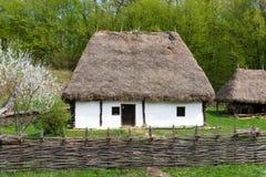 Ρουμανικό σπίτι Στοκ φωτογραφία με δικαίωμα ελεύθερης χρήσης