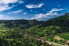 ρουμανικό χωριό Στοκ Εικόνες