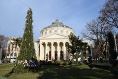 Ρουμανικό Athenaeum Στοκ εικόνα με δικαίωμα ελεύθερης χρήσης