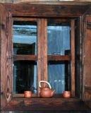 ρουμανικό window2 Στοκ εικόνες με δικαίωμα ελεύθερης χρήσης