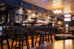 Παραδοσιακό ιρλανδικό μπαρ μπύρας στη Τάμπερε, Φινλανδία στοκ εικόνα