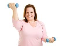 ρουτίνα workout Στοκ εικόνα με δικαίωμα ελεύθερης χρήσης