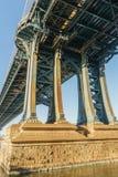 Ρουλεμάν γεφυρών του Μανχάταν Στοκ Φωτογραφία
