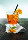 Ρούμι και πορτοκαλί aperol spritz Στοκ Φωτογραφίες