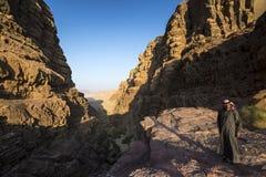 Ρούμι της Ιορδανίας Wadi Στοκ Φωτογραφία