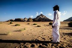 Ρούμι της Ιορδανίας Wadi Στοκ Φωτογραφίες