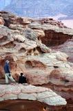 Ρούμι Wadi στο Hashemite βασίλειο της Ιορδανίας Στοκ Φωτογραφία