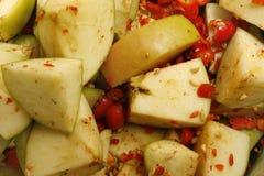 Ροδαλά ισχία και μήλα Στοκ φωτογραφία με δικαίωμα ελεύθερης χρήσης